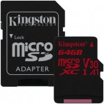 Kingston microSDXC 64GB UHS-I SDCR/64GB