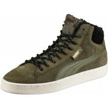 Puma Pánská Zimní obuv 1948 Mid Corduroy Olive N 363705-01 Zelená