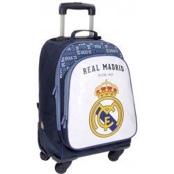9251f76a3f Pridať používateľskú recenziu JOUMMABAGS Batoh na kolieskach Real Madrid  biela 47x33x21 cm - Heureka.sk