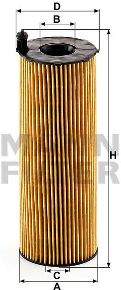 MANN FILTER Olejový filter HU 831 x - 0