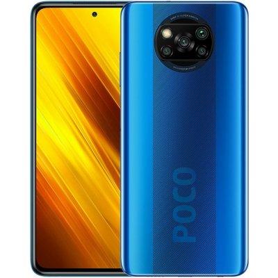 Xiaomi POCO X3, 6GB/128GB, Blue + DÁREK (Xiaomi POCO X3 NFC, 6GB/128GB, Blue)