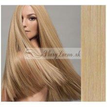 Prírodné blond CLIP IN vlasy na predĺženie - 40-43 cm 519f91162dc