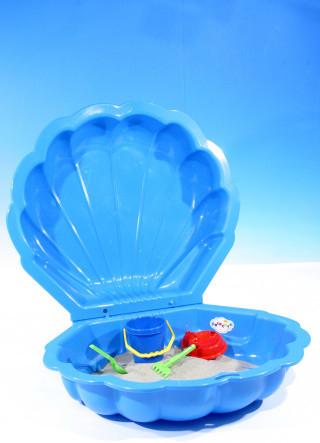 a808fb5da Recenzie Paradiso Pieskovisko bazén Mušľa malá s krytom 86x79 cm Modrá -  Heureka.sk