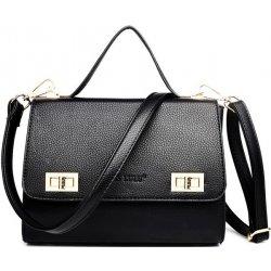 kabelka aktovka s dlhým popruhom a doplnkami čierna alternatívy ... 5c63f71df73