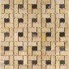 CeramstiC kamenná mozaika basket light mk-015 30 x 30 cm