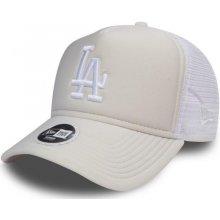 New Era Essential A-Frame Trucker Los Angeles Dodgers 9FORTY Satin White  Snapback Dámská 64f7b13fd2