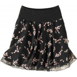 66802a630ebb Blancheporte rozšírená sukňa s potlačou kvetín čierna alternatívy ...