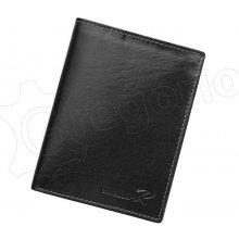 Ronaldo Pánska kožená peňaženka D1072-VT RFID SECURE hnedá 7823d5eac24