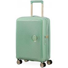 e41357ba707b9 American Tourister Kabínový cestovný kufor Soundbox Spinner 32G 35,5/41 l -  Almond