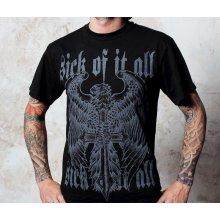 Sick Of It All Eagle And Dagger tričko pánske Black