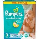 PAMPERS Active Baby 3 MIDI (4-9kg) Megabox Plus 174ks
