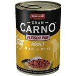 Animonda Gran Carno Fleisch Plus Adult hovädzie & morka 400 g