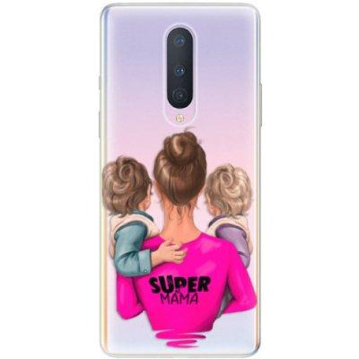 Púzdro iSaprio - Super Mama - Two Boys - OnePlus 8