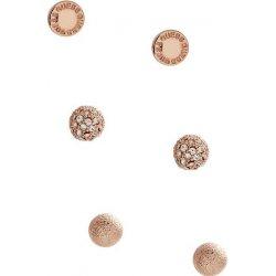 841fb5fcb Guess náušnice Rose Gold-Tone Stud Earring Set P371497921A ...