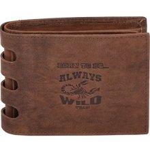 Always Wild Pánska kožená peňaženka Bort to be 30364b9804a