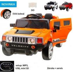 Joko elektrické autíčko Hummer Velocity 6V oranžová od 132 a60481b6acd