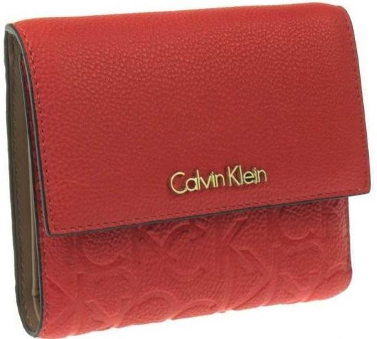 Peňaženka Calvin Klein Dámska peňaženka Mischa 2223c červená ... 7e91f2ba7be