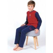 Chlapčenské bavlnené pyžamo FC BARCELONA BC03193
