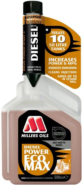 Millers Oils Diesel Power EcoMax 500 ml - 0