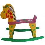 Jilong hojdací kôň ružovožltý
