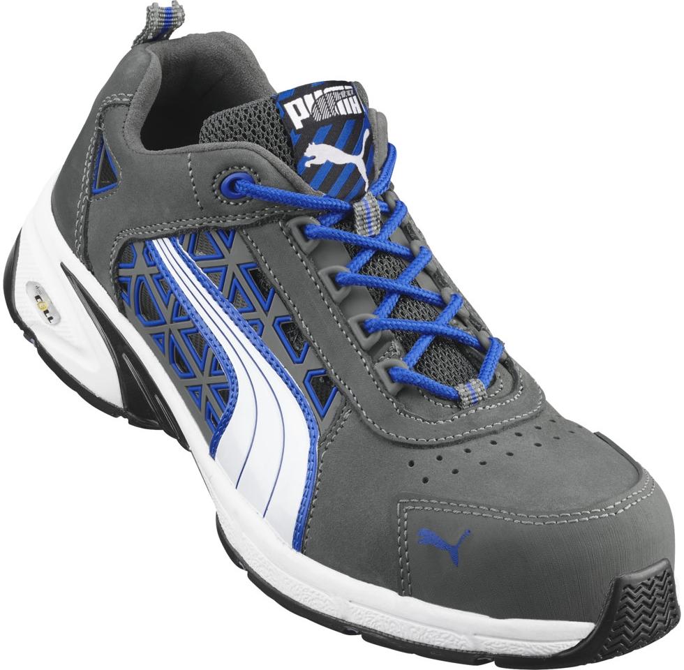 Pracovná obuv PUMA Stream Blue pracovné sandále S1P - Zoznamtovaru.sk 38e07a169cb