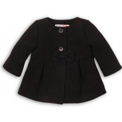 Minoti SQUIRREL 9 Kabát dievčenský s mašľou čierna od 18 bb7d80ed387
