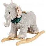 Alltoys Hojdací slon plyš