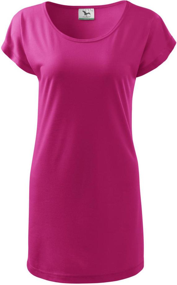 85b51b4684ac Dámske šaty ADLER Love 150 Tričko šaty dámske 12340 purpurová ...