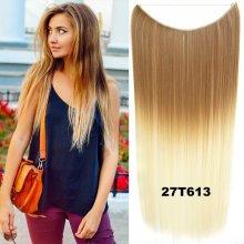 Flip in vlasy - 55 cm dlhý pás vlasov - odtieň 27 T 613