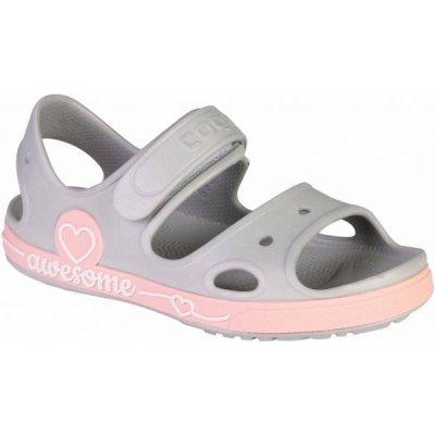 Coqui YOGI hnedá Detské sandále