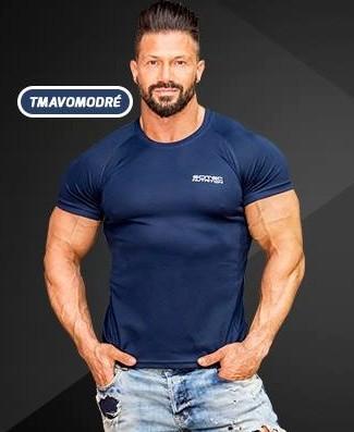 52338293c957 Pánske tričko Scitec Nutrition Funkčné tričko tmavomodrá ...