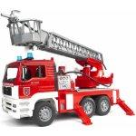 BRUDER 2771 Nákladné auto MAN požiarne rebrík + maják