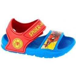 Disney by Arnetta Chlapčenské sandále Spiderman modro-červené ... 8b803e18e3a