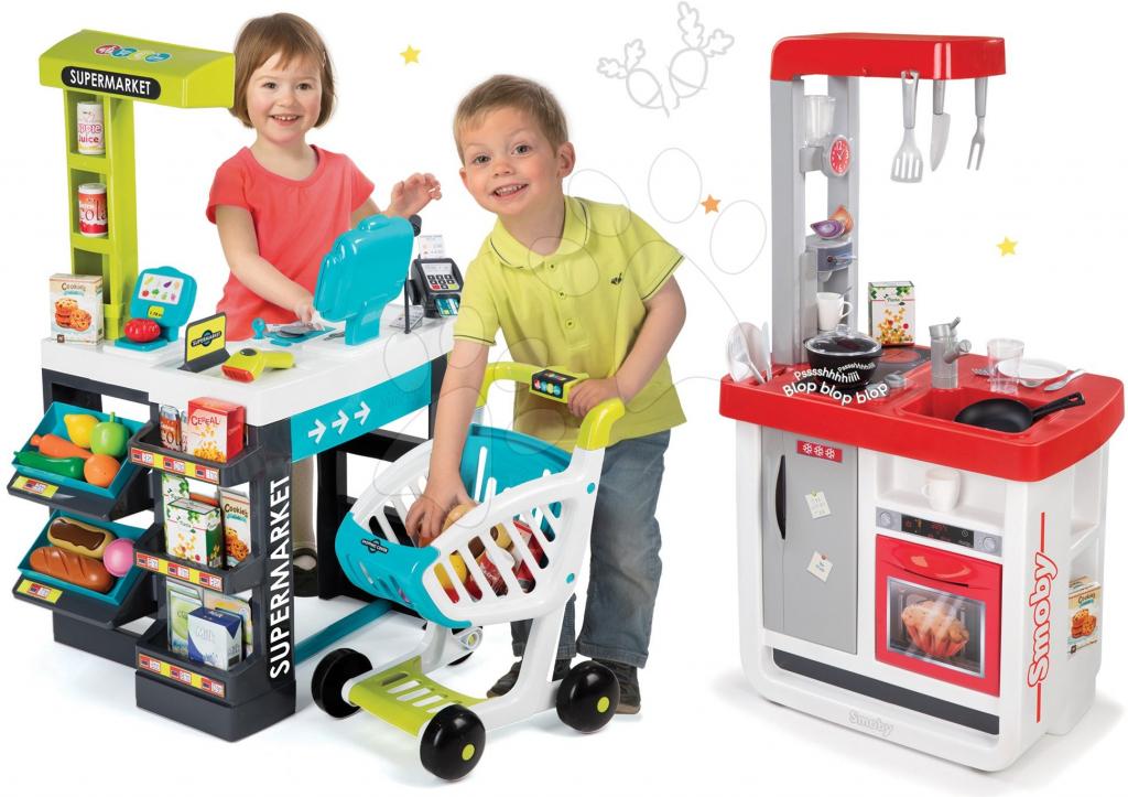 bf2e06916ef9 Smoby obchod Supermarket a kuchynka Bon Appétit 350206-3 alternatívy -  Heureka.sk
