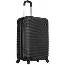 Sirocco cestovný kufor T-1039/3-70 ABS čierna