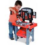 Smoby 500205 Black & Decker pracovný stôl s mechanickou vŕtačkou a motorkou