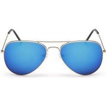 """Sunmania """"Pilotky"""" zrkadlové 008 modré"""