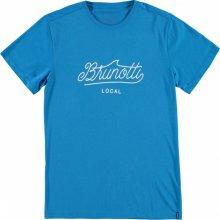 Brunotti Pelican Men T Shirt Methyl blue Modrá
