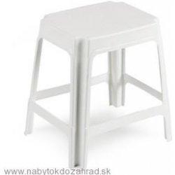 a1fa2e61860f Zahradná plastová stolička UNIVER biela od 3