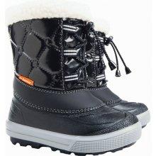 DEMAR Detské zimné snehule FURRY 1500 B čierné