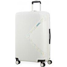 5f59ae6a8fb4b American Tourister Cestovný kufor Modern Dream EXP 55G 100/114 l - lesklá  bílá