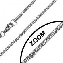 WEST SIDE Chirurgická oceľ - kulatá retiazka 2mm - KMMN6570