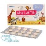 Apotex Laktik jahodova prichut 30 pastiliek