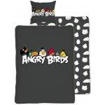 HALANTEX Obliečky Angry Birds Hang around bavlna 140x200 70x90