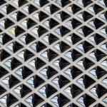 MOSAGRES MSP204 Mozaika porcelán perleť 300x300x8mm černá