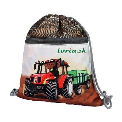 EMIPO Vrecúško na cvičky prezúvky Traktor 2013