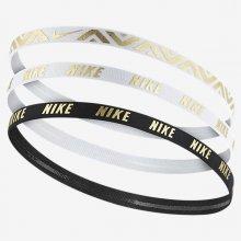 Nike METALLIC HAIRBANDS 3 PACK N.JN.G8.912.OS biela