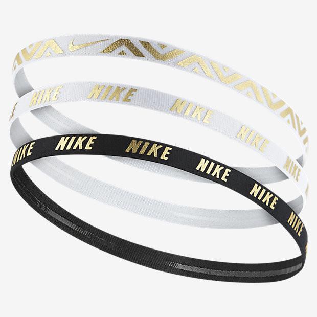 Nike METALLIC HAIRBANDS 3 PACK N.JN.G8.912.OS biela d9b98b726a