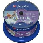 Verbatim DVD+R 4,7GB 16x, 50ks