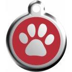 Red Dingo známka ťapka M